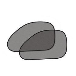 Clona sluneční černá, tvarovaná, 2 přísavky